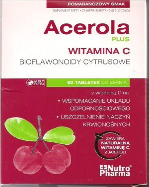 Acerola Plus tabl.do ssania 60 tabl.