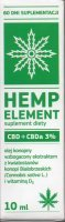 Hemp Element CBD+CBDa 3% Płyn 10 ml
