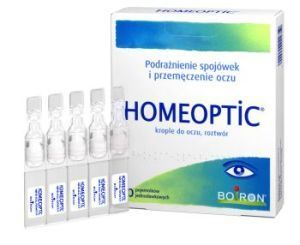 BOIRON HOMEOPTIC KROPLE DO OCZU  10 MINIM 1 OP.