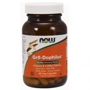 NOW GR8-DOPHILUS 60 KAPS.