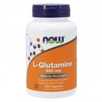 NOW L-GLUTAMINE 500 MG 120 KAPS.