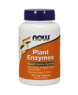 NOW PLANT ENZYMES 120 KAPS.