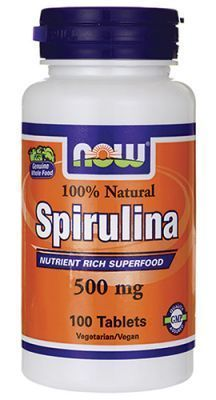 NOW SPIRULINA  100 SZT.
