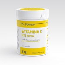 WITAMINA C MSE MATRIX 500MG 180 TABL DR ENZMANN